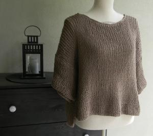 il minipull tratto da Burda maglia