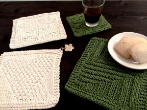 Le mug rugs da colazione o pausa caffè o tea delle cinque!